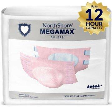 Northshore Megamax Windeln mit Folie rosa Gr L