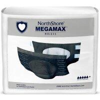 Northshore Megamax Windeln mit Folie schwarz Gr L